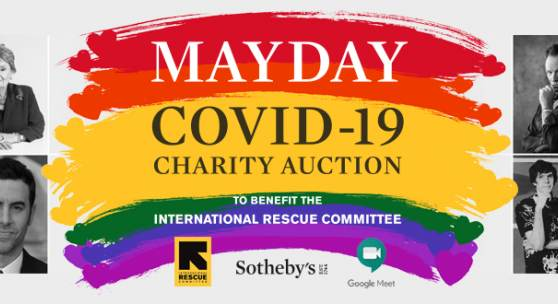 May Day Covid-19 Charity Auction montage