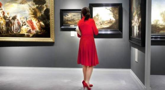 TEFAF Paintings section at TEFAF 2013 Photo: Loraine Bodewes