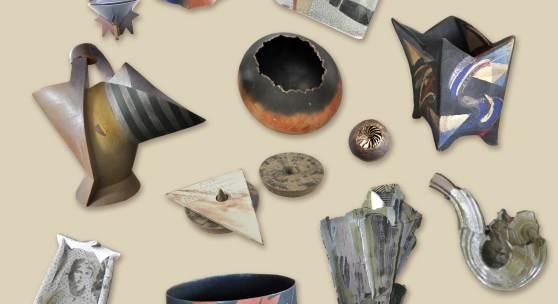 Österreichische und internationale Keramik der 80er Jahre