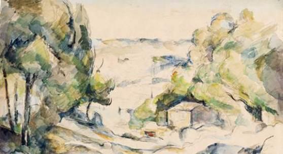 Paul Cézanne, Paysage en Provence, um 1880 Kunsthaus Zürich