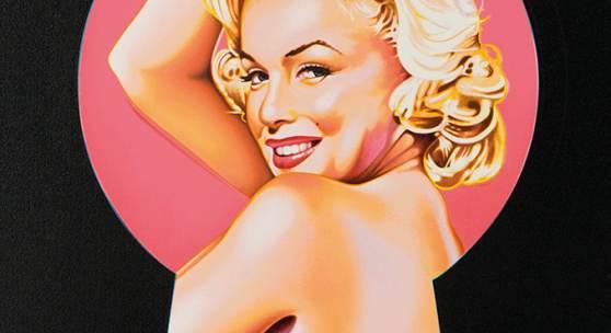 Mel Ramos, Peek-A-Boo Marilyn, 2002/Ed. of 199, Lithograph 61,5 x 40,5 cm