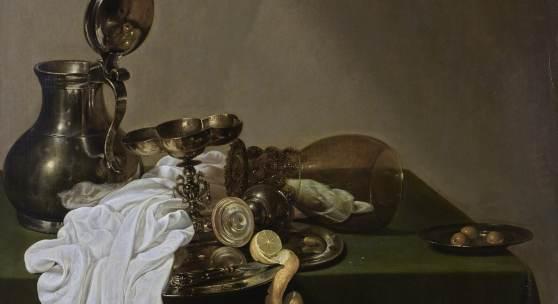 Jan Jansz. den Uyl, Stillleben mit Zinnkanne, 1635, LIECHTENSTEIN. The Princely Collections, Vaduz–Vienna