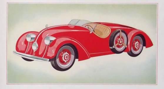 Mercedes-Benz 150 Sportroadster, Verkaufskatalog aus 1935 Rufpreis € 500