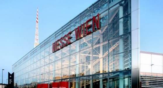 Bildlegenden: Messe Wien Eingang A, Copyright: Reed Messe Wien / G. Szuklits