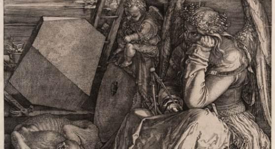 Albrecht Dürer, Melancolia I, 1514, Graphische Sammlung, MHK