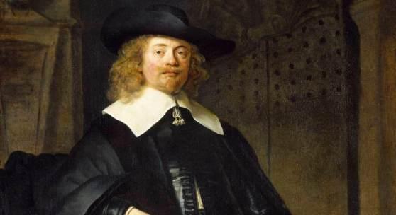 Rembrandt van Rijn, Bildnis eines stehenden Herrn in ganzer Figur, Foto Ute Brunzel, MHK, Gemäldegalerie Alte Meiste