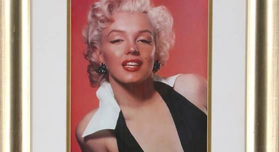 Mit ihrer Signatur hat Marilyn Monroe das Ende der Partnerschaft mit Milton Greene besiegelt.
