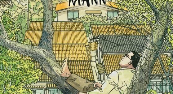 Jiro Taniguchi, Der Spazierende Mann, 2009, Cover, © Jiro Taniguchi, Carlsen Verlag