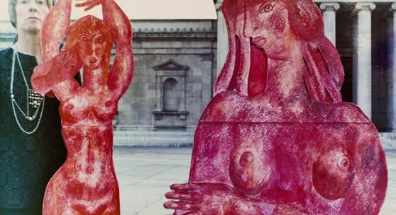 Priska von Martin, Königsplatz, Glyptothek,1967/68  © SOS-Kinderdorf e. V. als Rechtsnachfolger im Nachlass Priska von Martin, Foto: Bernhard Dörries