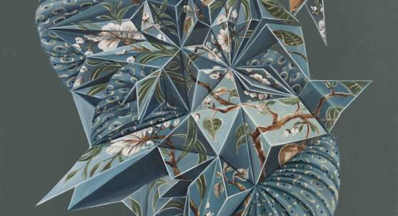 Mona Ardeleanu, Flexit 2016-IV, 2016, Öl auf Leinwand, 70 x 50 cm