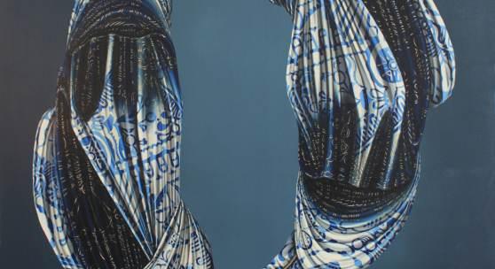 Mona Ardeleanu, Kuro 2020 / III, 2020 Öl auf Leinwand, 140 x 120 cm