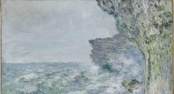 Claude Monet (1840-1926) Das Meer bei Fécamp, 1881, Öl auf Leinwand, 65,5 cm x 82 cm © Staatsgalerie Stuttgart