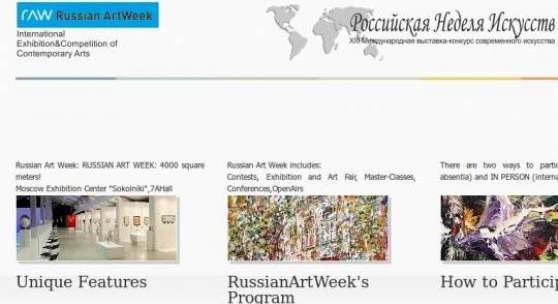 Russian Art Week: April 17-21, 2013