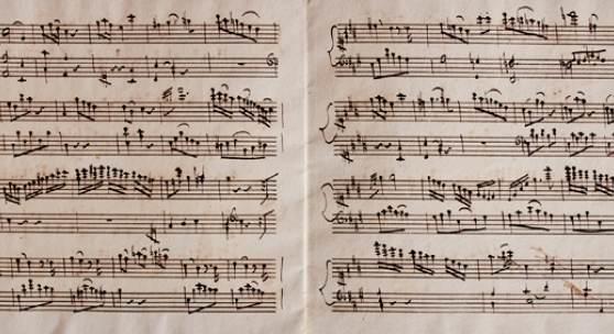 ALTE MUSIK (mit einer sensationellen zeitgenössischen Kopisten-Handschrift eines verschollenen Mozartwerkes) bilden.