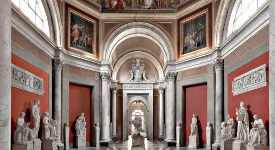Musei Vaticani - Sala delle Muse Rom 2014 180 x 225 cm ©Massimo Listri