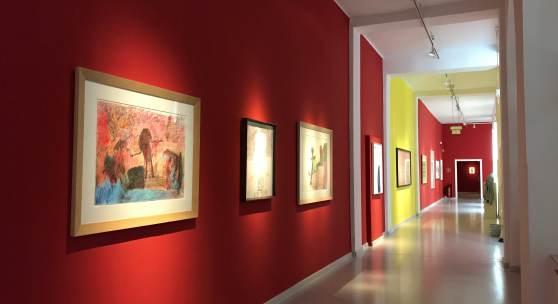 Ausstellungsansicht Museum Gugging Ausstellung gehirngefühl