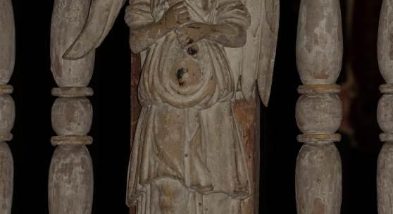 Detail aus der Dorfkirche in Dorf Mecklenburg © M.L. Preiss/Deutsche Stiftung Denkmalschutz