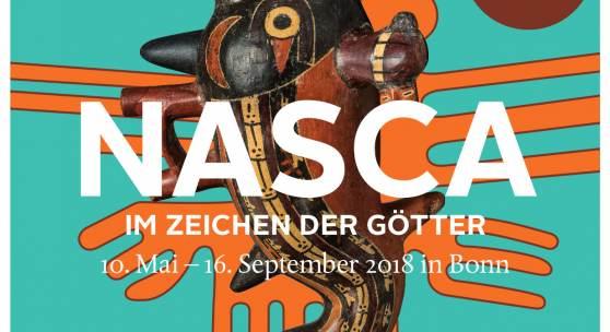 Plakat Nasca. Im Zeichen der Götter