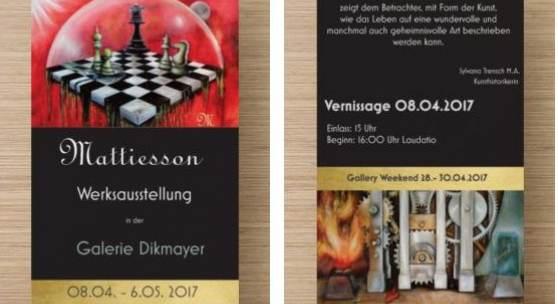Flyer Mattiesson: Das Königliche Spiel