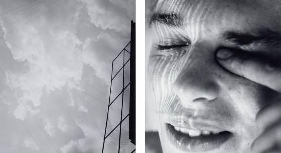 Walter Pfeiffer, Untitled. From the series «Walter Pfeiffer 1970–1980», 1970/1980 2 black and white photographs, each 30,3 x 21,3 cm Kunsthaus Zürich, 1999 © 2019 ProLitteris, Zurich