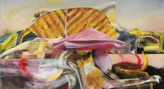 Adrian Ghenie, The Uncle 3, 2019. Oil on canvas. 220 x 260 cm (86.61 x 102.36 in). Courtesy the Artist.
