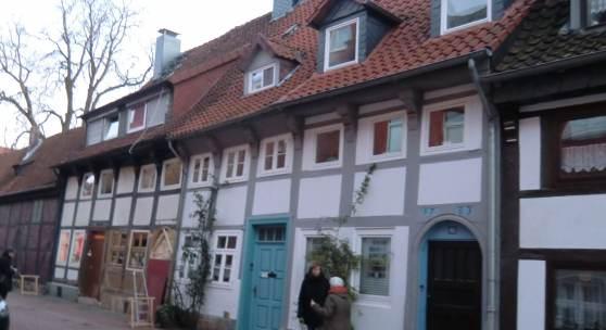 Fachwerkhäuser in der Keßlerstraße 58/59 in Hildesheim © Deutsche Stiftung Denkmalschutz/Kruth-Luft