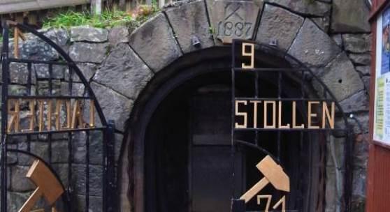 Eingang zum 19-Lachter-Stollen in Wildemann © Wolfgang Zimpel/Deutsche Stiftung Denkmalschutz