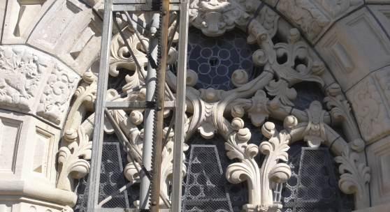 Detail der Fassade der Wolfenbütteler Hauptkirche Beatae Mariae Virginis © Deutsche Stiftung Denkmalschutz/Liebeskind