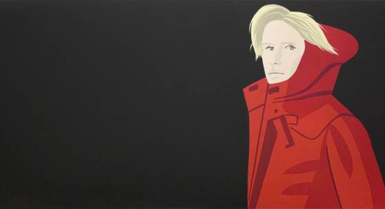 Alex Katz, NICOLE, 2016 Size: 180 x 80 cm. 70 x 31 inch. Method: Color woodblock  Edition: 60  Signed and numbered.