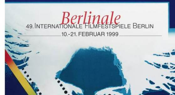 Volker Noth Volker Noth Grafik-Design (Umsetzung: Volker Noth, Klaus Janck) Berlinale / 49. Internationale  Filmfestspiele  Berlin, 1999 Deutschland, Berlin Heenemann KG, Berlin Offsetdruck © Volker Noth, Foto: Museum Folkwang