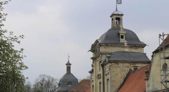 Seitenansicht: Torhaus von Haus Stapel in Havixbeck © Deutsche Stiftung Denkmalschutz/Schroeder