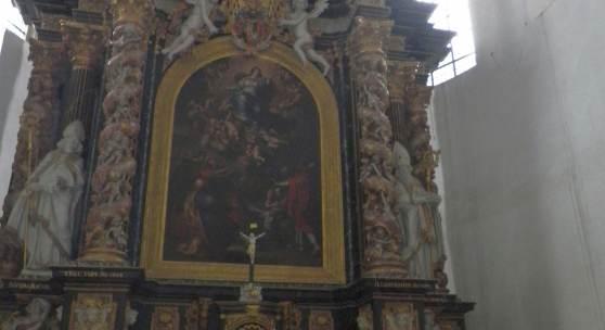 Dominikanerkirche in Münster, Altar © Deutsche Stiftung Denkmalschutz/Gehrmann