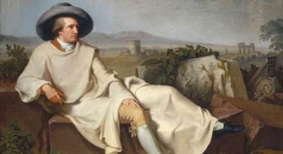 Johann Heinrich Wilhelm Tischbein (1751-1829) Goethe in der römischen Campagna, 1787 Öl auf Leinwand, 164 x 206 cm Städel Museum, Frankfurt am Main Foto: Städel Museum - ARTOTHEK Schenkung der Freifrau Salomon von Rothschild