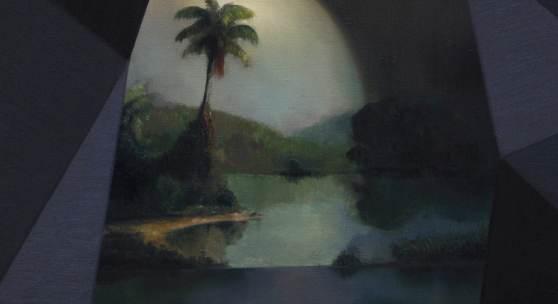 o.T., 2017, 80 x 60 cm, Öl auf Leinwand