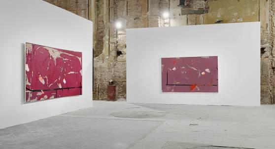 Image: Michael Müller, Schwierige Bilder, 2021, installation view © def image. Courtesy of the artist and Sammlung Wemhöner.