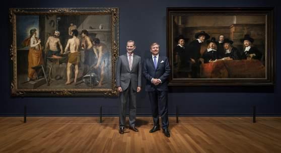King Willem-Alexander and King Felipe VI. Photo: Olivier Middendorp