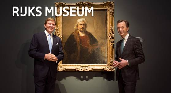 Opens Late Rembrandt Exhibition at the Rijksmuseum Today
