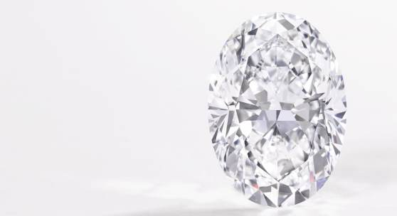 Oval diamond weighing 50.39 carats D Colour, Flawless Excellent Polish and Symmetry, Type IIa Estimate 6,860,000–7,570,000 CHF / US$7,250,000–8,000,000