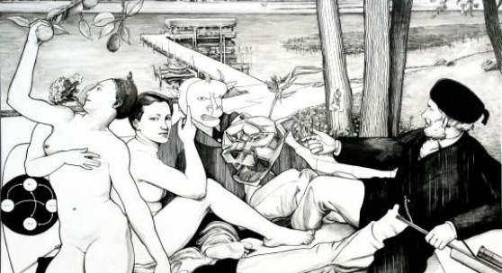 Der italienische Künstler Ozmo ist in heimischen Museen bereits mit mehreren seiner Bilder vertreten