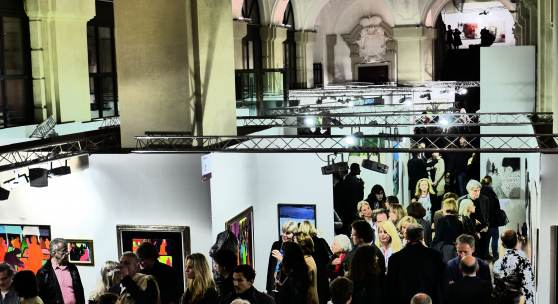 Impressionen Vernissage art austria 2017 (c) findART.cc