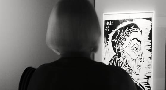 Picasso in der Künstlerstadt Gmünd 2021 (c) findART.cc Foto frei von Rechten.