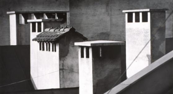 Kamine, Robert Häusser (*1924), 1947 (Print 1989), Deutschland, Silbergelatine, 39,8 x 58,5 cm, Foto: Jörg Arend / MKG