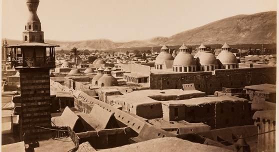 Damas. Quartier chrétien ruiné en 1860/ Syrie