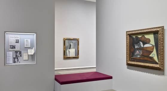 Installationsansicht #13 Pablo Picasso Kriegsjahre 1939 bis 1945 Kunstsammlung Nordrhein-Westfalen Installationsansicht K20 Foto: Achim Kukulies #K20Picasso #K20