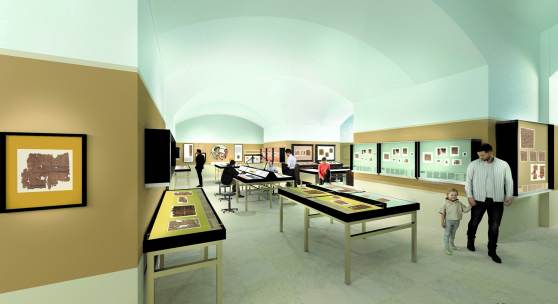 Relaunch des Papyrusmuseums – © BWM Architekten