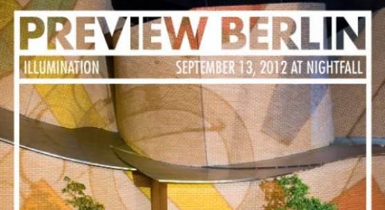 PREVIEW BERLIN ART FAIR 2012 Plakat