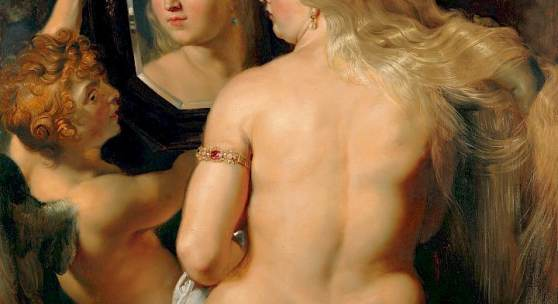 Peter Paul Rubens: Venus vor dem Spiegel, um 1614/15 Öl auf Holz (© LIECHTENSTEIN. The Princely Collections, Vaduz–Vienna)