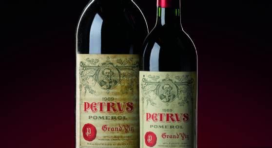 Petrus 1989 6 bottles, est. £15,000 – 20,000 6 magnums, est. £30,000 – 40,000