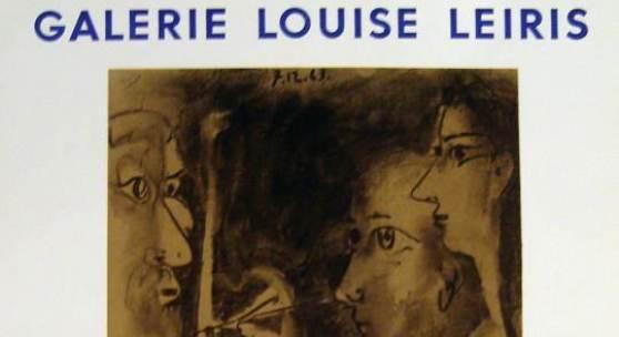 Plakat: Galerie Louise Leiris Picasso, Peintures 1962 - 1963 (c) conzen.de