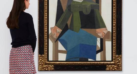 Picasso, Femme assise dans un fauteuil (est. £6.5-8.5 million)
